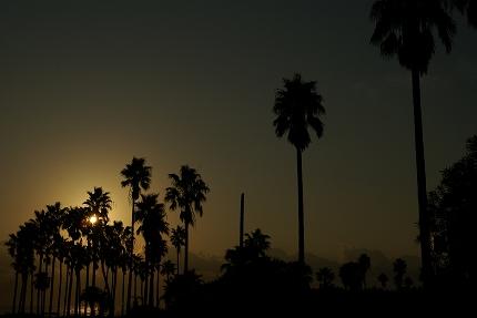 日南海岸の朝