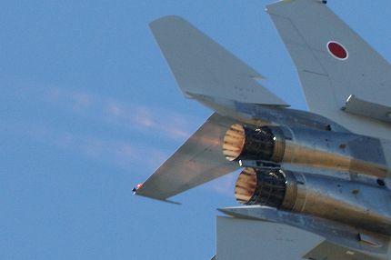機動飛行 F15 アフターバーナー 新田原(ニュータバル)基地航空祭