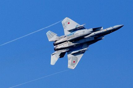 機動飛行(教導隊) F15 新田原(ニュータバル)基地航空祭