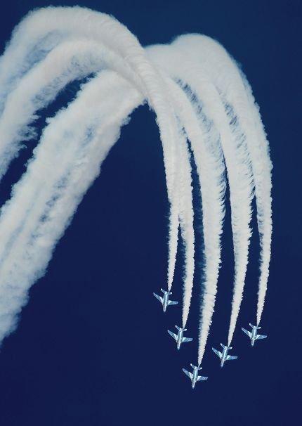 ブルーインパルス 新田原(ニュータバル)基地航空祭
