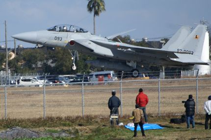 新田原基地航空祭 基地の外のギャラリー 1