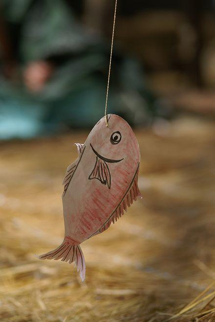潮嶽神楽 魚釣り舞