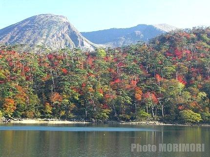 えびの高原 六観音池の紅葉