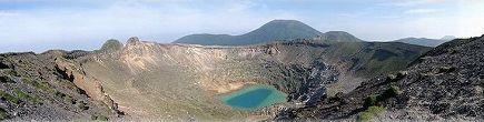 新燃岳パノラマ写真