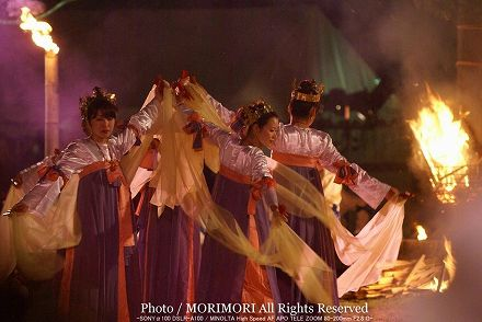 西都古墳まつり 炎の祭典